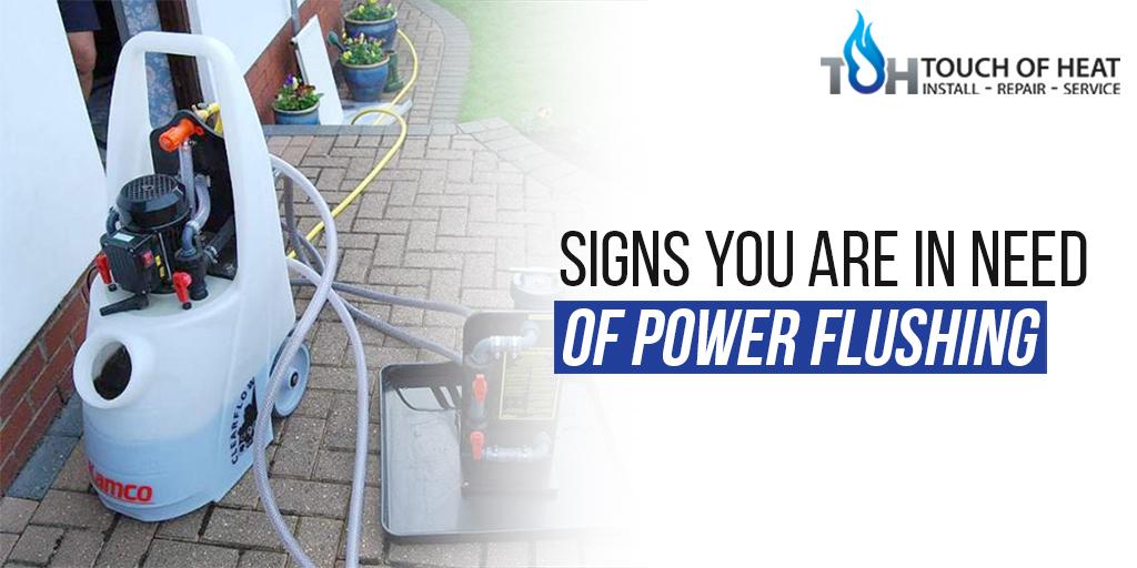 Power Flushing Service in London